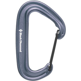 Black Diamond Miniwire Mosquetón, gray